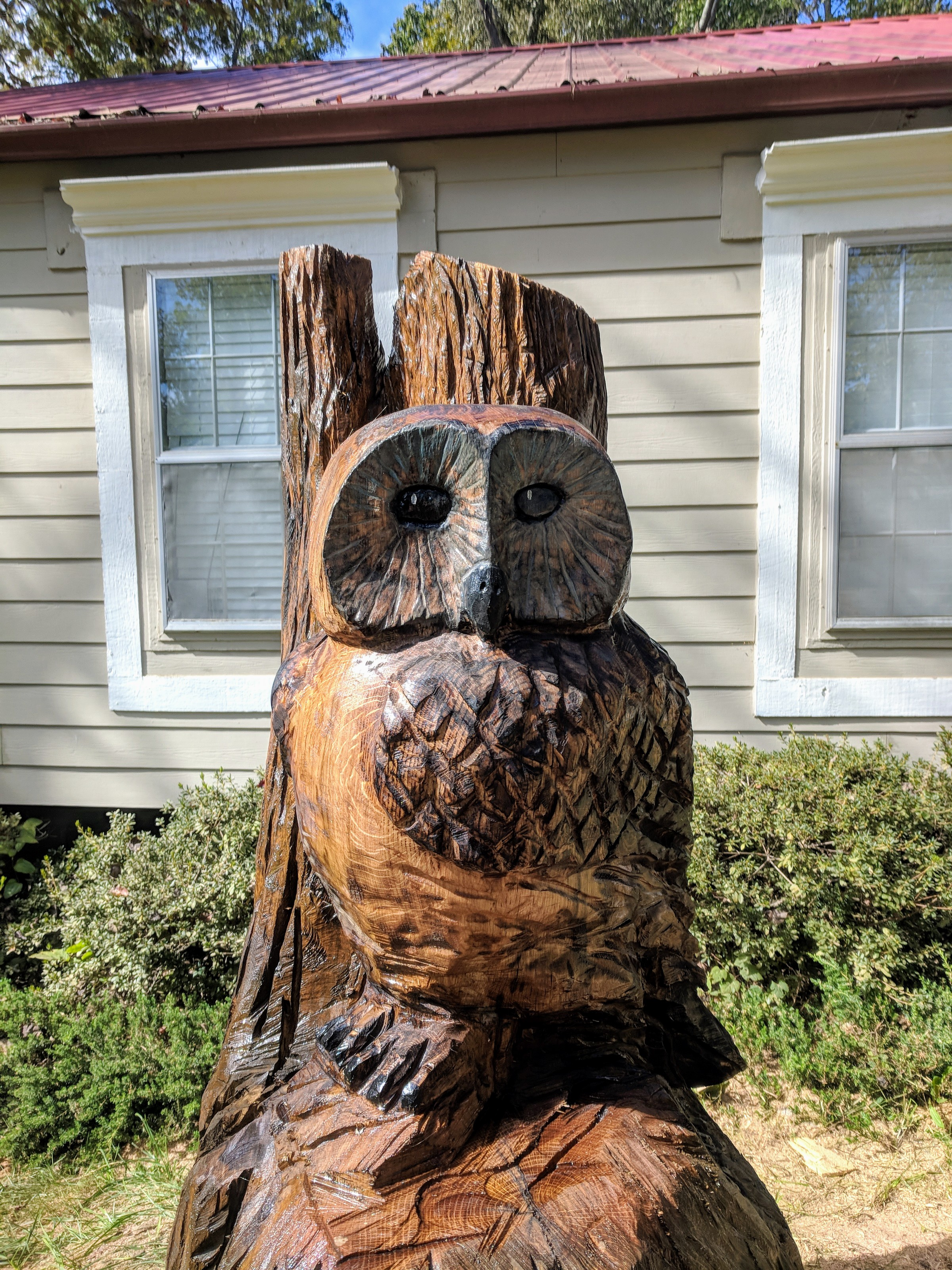 Custom wood carvings chainsaw carvings wood carved creations