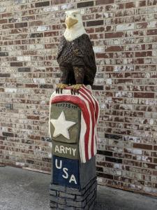 Army Veteran Eagle Monument 1