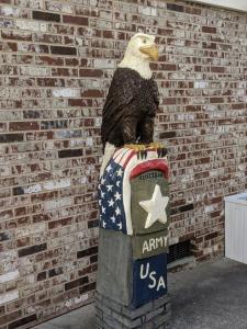 Army Veteran Eagle Monument