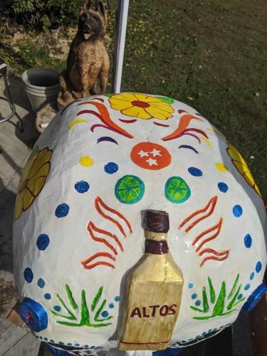 Sugar Skull- Wood Carved Creations.com 3
