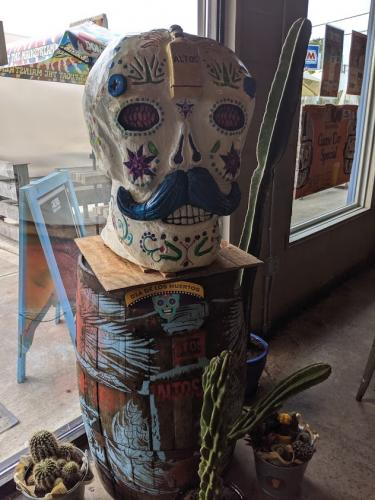 Sugar Skull- Wood Carved Creations.com 5