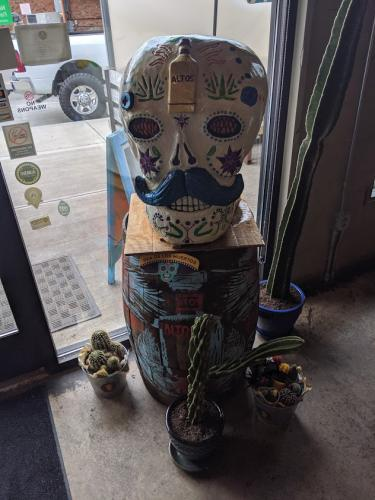Sugar Skull- Wood Carved Creations.com 6